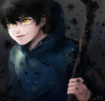 Jack Nightmare (Rise Of The Guardians) by ispan0w0