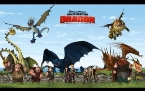 How to Train Your Dragon by momarkey