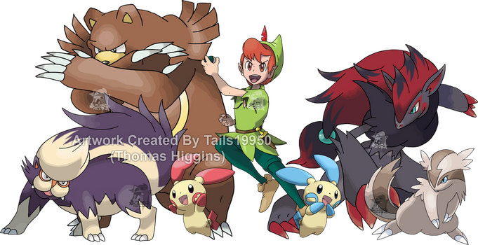 Peter Pan - Pokemon Team by Tails19950