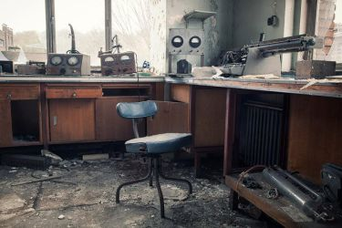 The old laboratory by schnotte