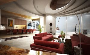 Living Room - MJ by VT-Arch