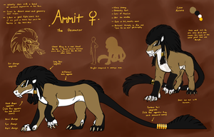 2018: Ammit Ref (EVOLOONS) by CoffeeAddictedDragon