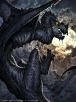 Evil Dragon Vritra : Legend of the Cryptids by AlexAlexandrov