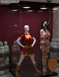 Mary Marvel Trophy Case by thejpeger
