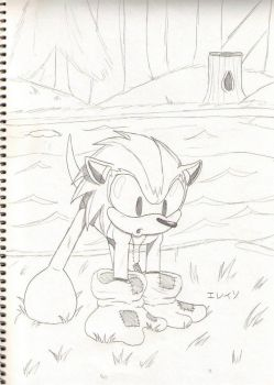Blaze the Hedgehog as a baby by soggycereal