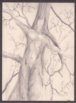 Dryad - quick sketch by sanntta82