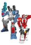 Fortress Maximus and Red Alert
