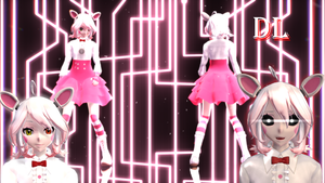 MMD FNAF Funtime Foxy dl by Angel503