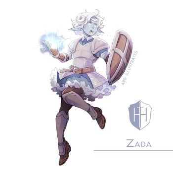 High Hopes Low Rolls: Zada [SPEEDPAINT] by ABD-illustrates