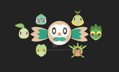 All generations grass starter by wanaminur