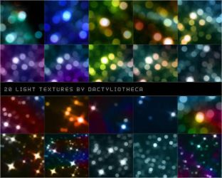 20 LIGHT TEXTURES by unsweet