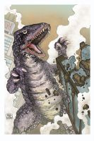 GOROSAURUS by aaronjohngregory