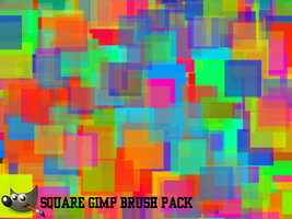 Square GIMP Brushes (For GIMP 2.6) by PkGam