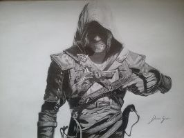 Assassin's Creed IV Black Flag Edward Kenway by dronklon