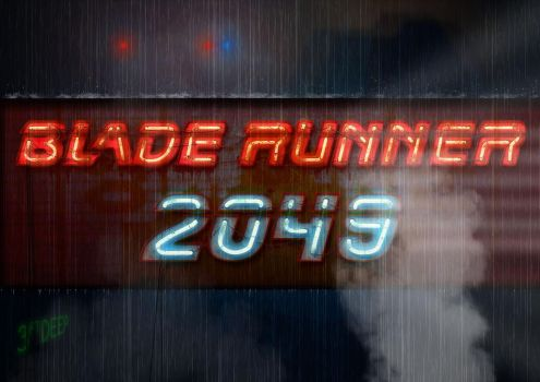Blade Runner 2049 Neon poster by 3ftDeep
