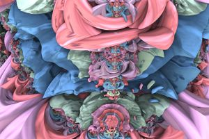 Rose Of Eternity Blossoms by Geonetique