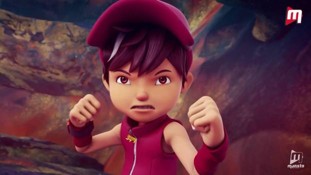 BOBOIBOY FIRE by Xierally