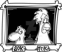Introducing: Sok and Tok by kluyten