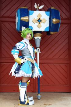 Holy/Lime Serenity - Grand Chase Cosplay by Kitsune-Raposa