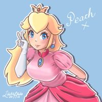 Peach by lackaholo