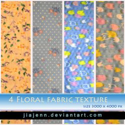 Floral fabric texture Preview by jiajenn