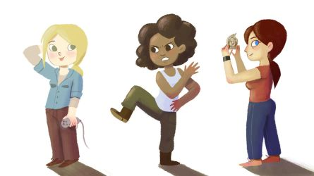 Uncharted girls by Gigei