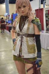 Lightning from Final Fantasy XIII - AlysonTabbitha by Caine-of-Nod