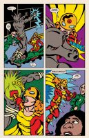 Lady Spectra and Sparky: Star Tomb pg.13 by JKCarrier