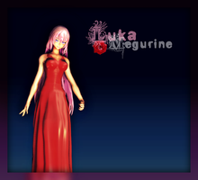 Red Dress Montecore Luka by niro0812