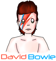 David Bowie by EVIE128