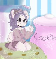.:+SPEEDPAINT | Art Trade:. Matcha Muffin by moved-thanks