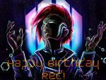 Red - Happy Birthday! by Wayward-Dreams