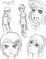 :Female.Practice: by Demyboilover