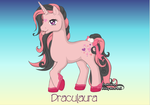 Draculaura Pony by RemixPop122
