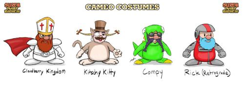 SDM Cameo Costumes by BluDrgn426