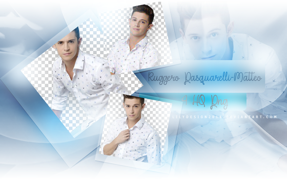 Png Pack #19  Ruggero Pasquarelli by LilyDesign2016