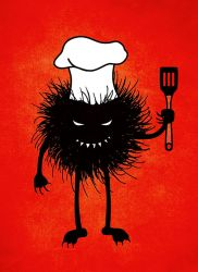 Evil bug chef by azzza