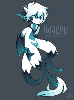 Testing Color desing for IWACHU by IW4CHU