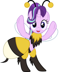 Starlight Glimmer Bumblebee by CloudyGlow