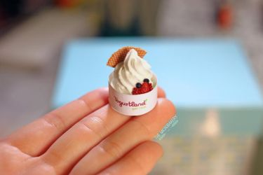Yogurtland Inspired Frozen Yogurt 1 by TheMicroBakery