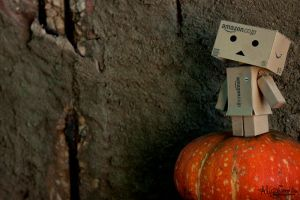 Looking Danbo by AngelAr-Feiniel