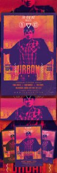 Urban Party Flyer by bl4ckocreation