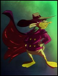 Darkwing Duck color by Hiwo by skyraptor