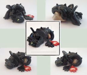 Toothless by Liluri-Creations