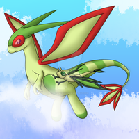 Flygon and Vibrava's adventure