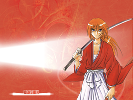 Kenshin Wallpaper by Blekwave