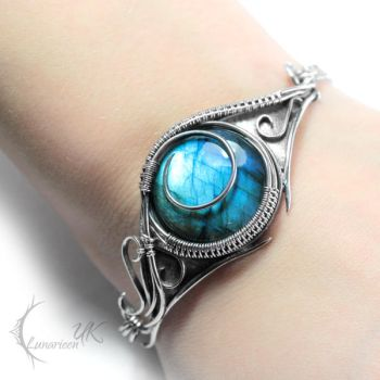 ANIRTIAL  - silver and labradorite by LUNARIEEN