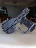 1/1 scale HALO Magnum Painted/Weathered by BazSg