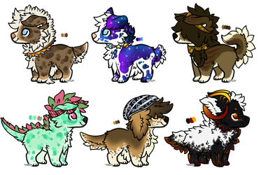 Fluff butts (Closed) by Sqica