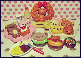 Rilakkuma Dinner by BloodCross